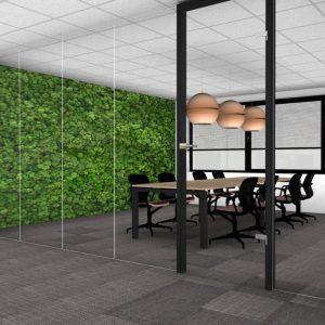 ontwerp kantoorinrichting